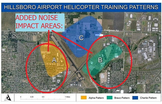20140805.. KHIO Helicopter Patterns A-B-C, ADDED IMPACT AREAS
