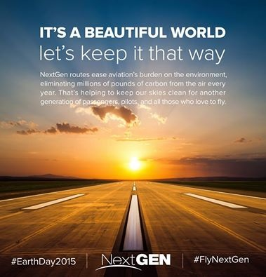20150422.. FAA sunset pic, poster image from their Earth Day 2015 Facebook Post