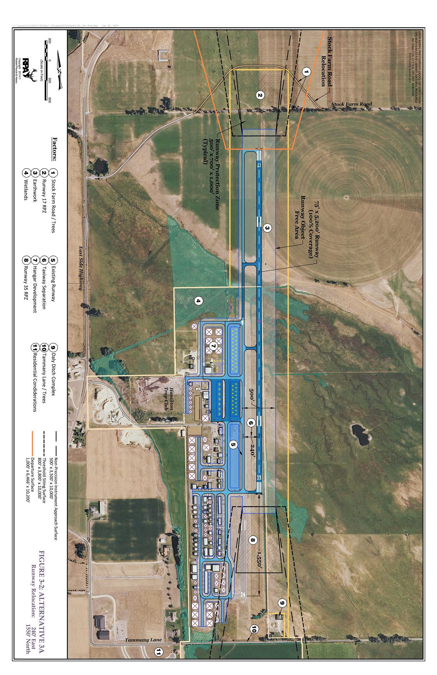 [6S5] proposed airport layout
